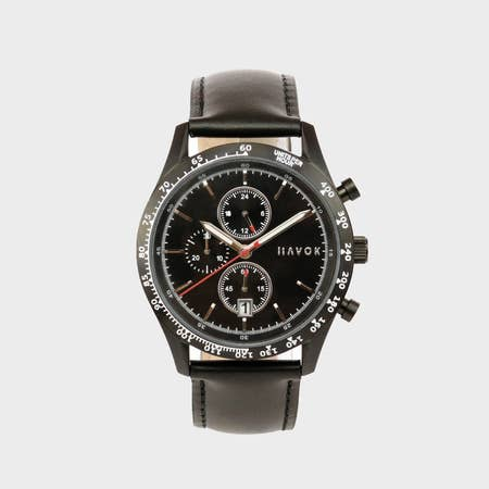Diamond Black Racer Chronograph - 42mm - Gear Supply Company