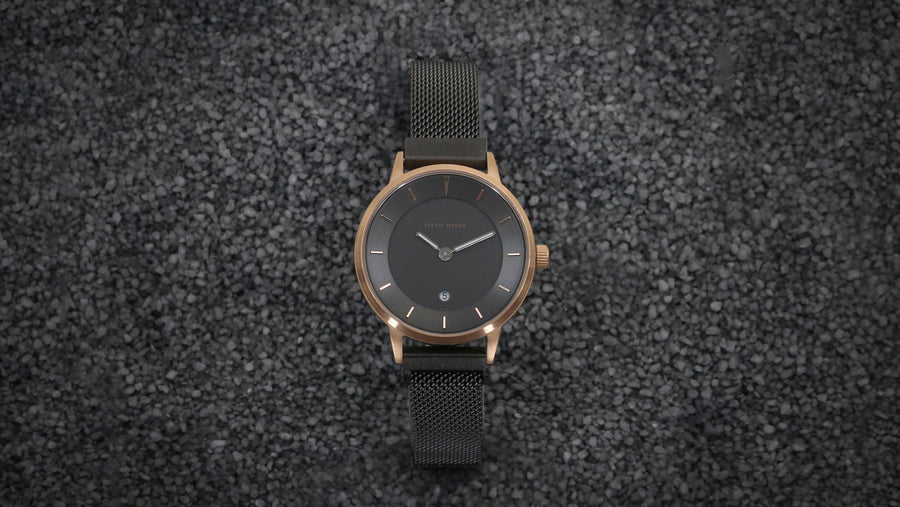 Elliot Havok - Gunmetal Rose Minimalist Mesh - 30mm - Gear Supply Company