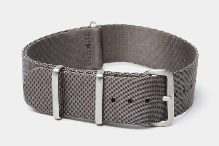 "20mm ""SB"" Gray Seat Belt Strap - Gear Supply Company"