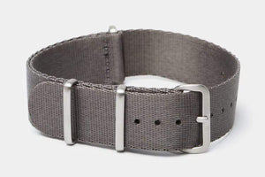 "22mm ""SB"" Gray Seat Belt Strap - Gear Supply Company"