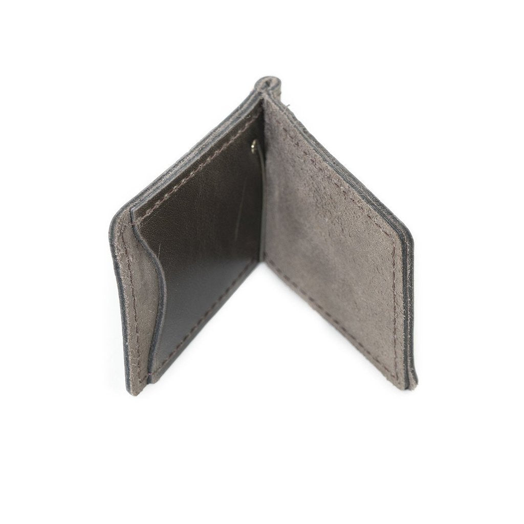 Money Clip Wallet: Saddle - Gear Supply Company