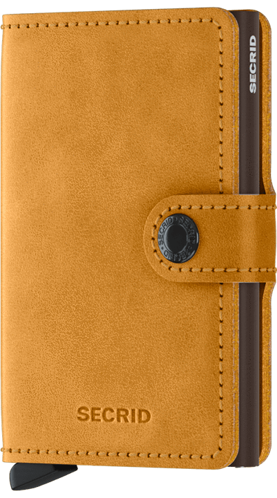 Secrid Miniwallet - Vintage Ochre - Gear Supply Company