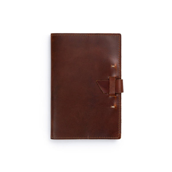 Navigator Leather Notebook: Saddle - Gear Supply Company