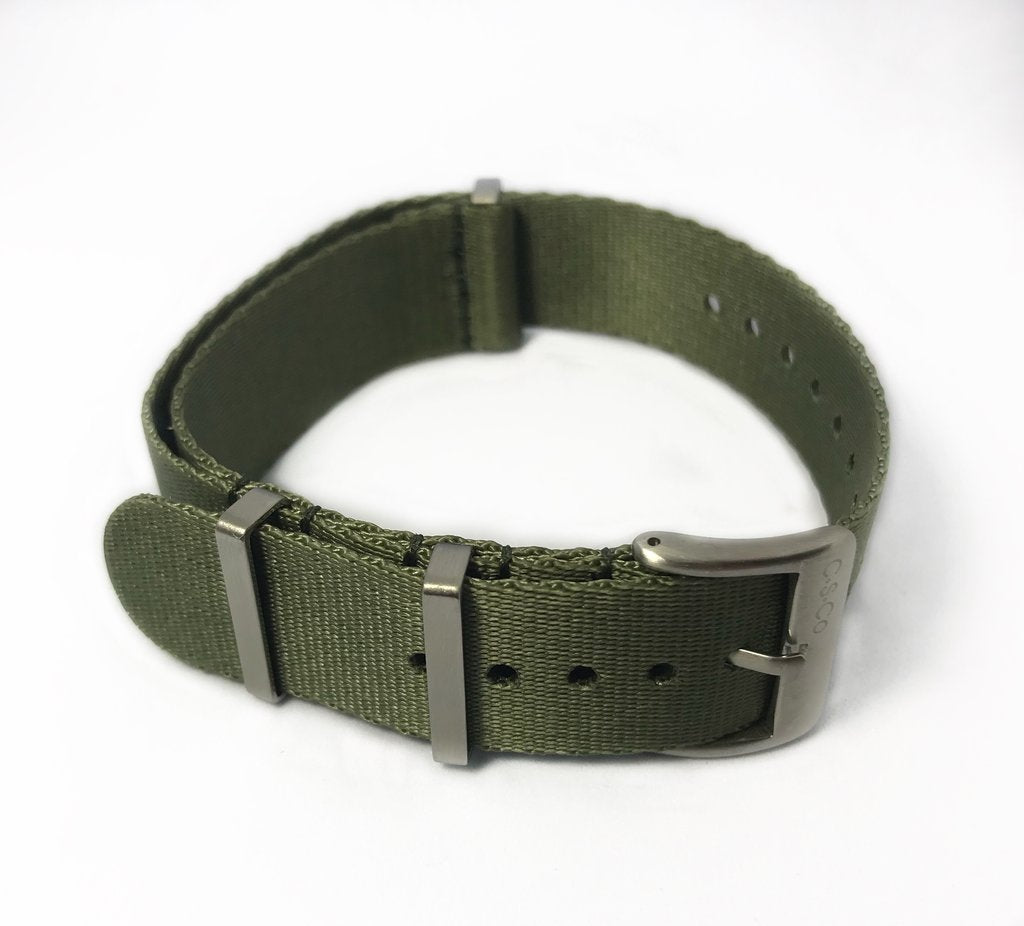 "22mm ""SB"" OD Green Seat Belt Strap - Gear Supply Company"