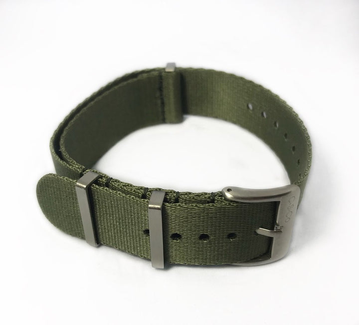 "20mm ""SB"" OD Green Seat Belt Strap - Gear Supply Company"