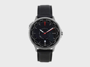 Onyx Black World Traveller | 24 Time Zones On a World Timer - Gear Supply Company
