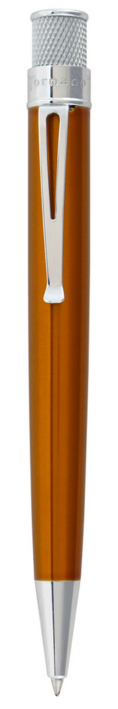 Retro51 Tornado Classic Lacquers Rollerball Pen - Orange - Gear Supply Company