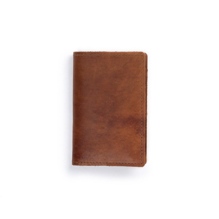 Field Leather Notebook: Saddle - Gear Supply Company