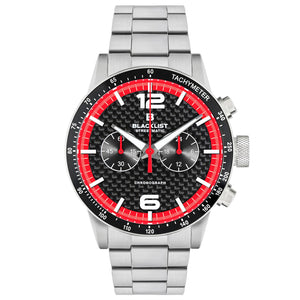 Blacklist Streetmatic Chronographic Rosso Corsa - Steel - Gear Supply Company