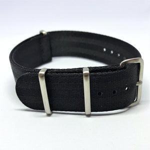 "22mm ""SB"" Black ""Stealth Bond"" Seat Belt Strap - Gear Supply Company"