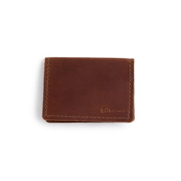 Voyager Leather Wallet: Saddle - Gear Supply Company