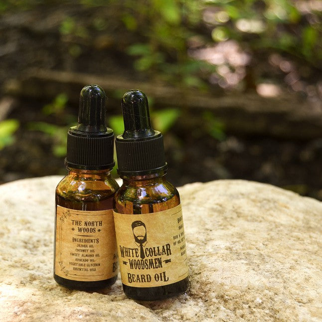 THE NORTH WOODS Beard Oil .5oz - Gear Supply Company
