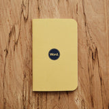 Yellow by WORD. NOTEBOOKS - Gear Supply Company