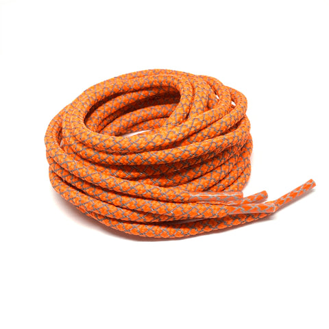 Orange Reflective Rope Laces