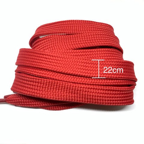 Red FAT Shoelaces