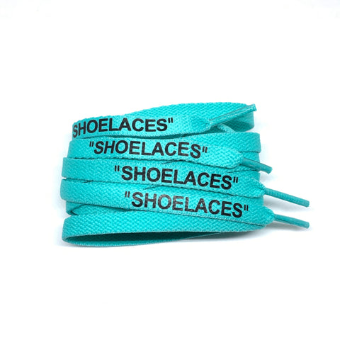 "Teal Flat ""SHOELACES"""