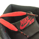 Red BANNED Flat Shoelaces
