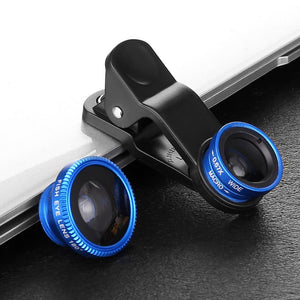 Fisheye Lens (Blue)