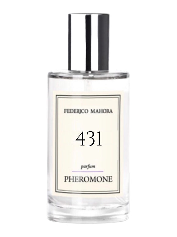 FM 431 Inspired by Carolina Herrera Good Girl with Pheromones
