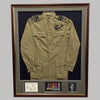 war medal framing