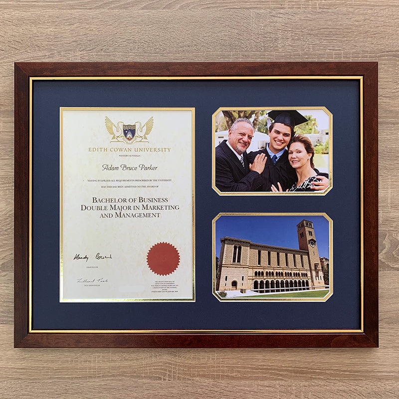 certificate framing service