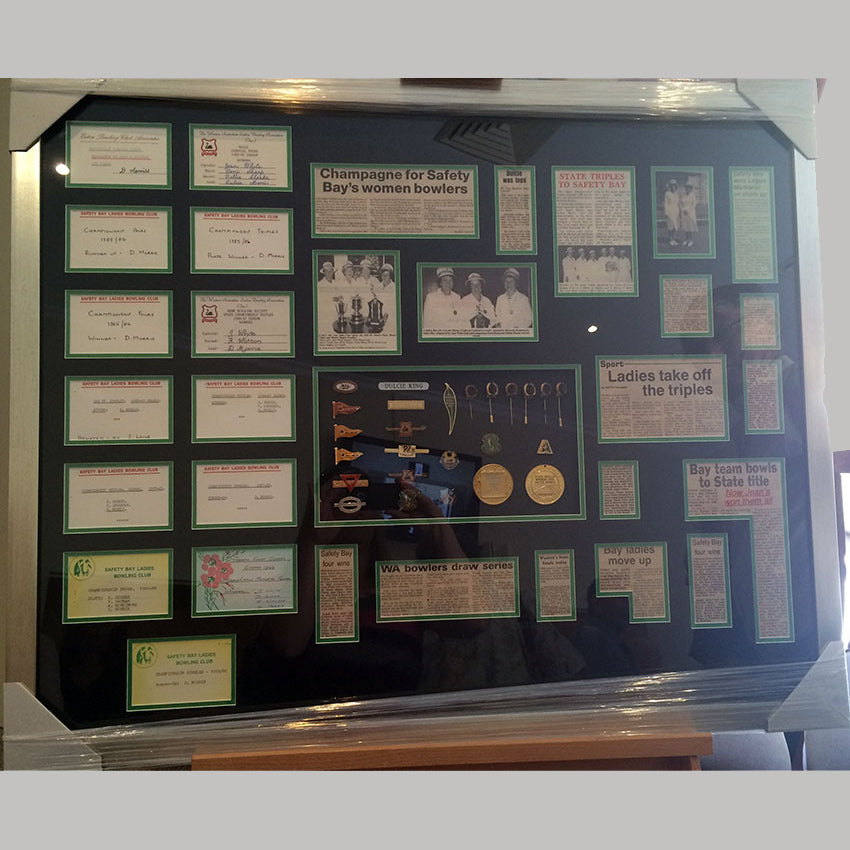 war medal memorabilia framing perth