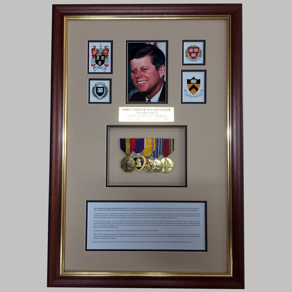 lifetime war memorabilia framing