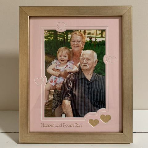 fathers day family picture frame