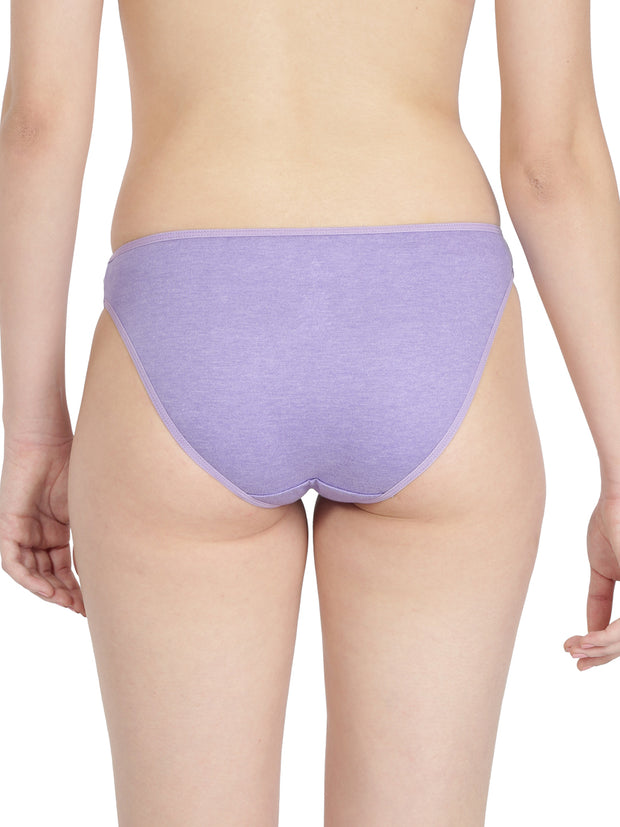 Women's Mini Briefs - Solid Pack of 2
