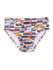 Boy's Disney Pixar Cars Printed Cotton Briefs - Pack of 3