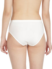 Women's Hipster Brief - Black and White