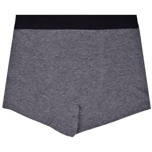 Boys Trunks - Grey and Black Combo - Pack of 3