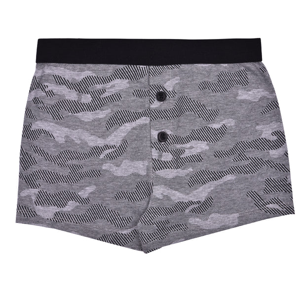 Boys Boxers - Black and Gray  Combo - Pack of 5