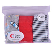 Boys Briefs - Skateboard Print - Pack of 3