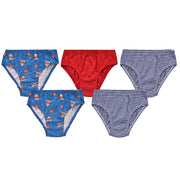Boys Briefs - Shark Print - Pack of 5