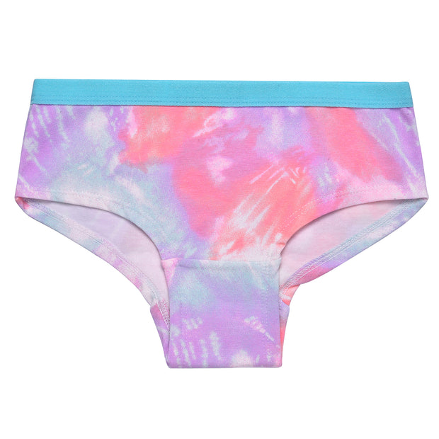 Girls Hipster Briefs - Colorful Hearts Print - Pack of 3