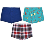 Boys Boxers - Racing Print  Combo - Pack of 3