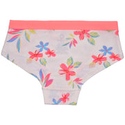 Girls Hipster Briefs - Floral Print - Pack of 3