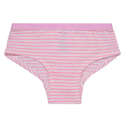 Girls Hipster Briefs - Pink and White Hearts print - Pack of 3