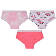 Girls Hipster Briefs - Pretty Eyes Print - Pack of 3