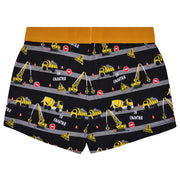 Boy's Boxer - JCB Truck Print - Pack of 3