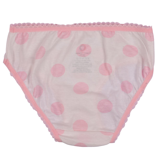 Girl's Cotton Brief - Cat Print - Pack of 3