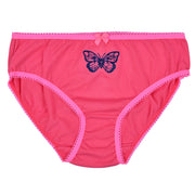 Girl's Cotton Brief - Butterfly Print - Pack of 3
