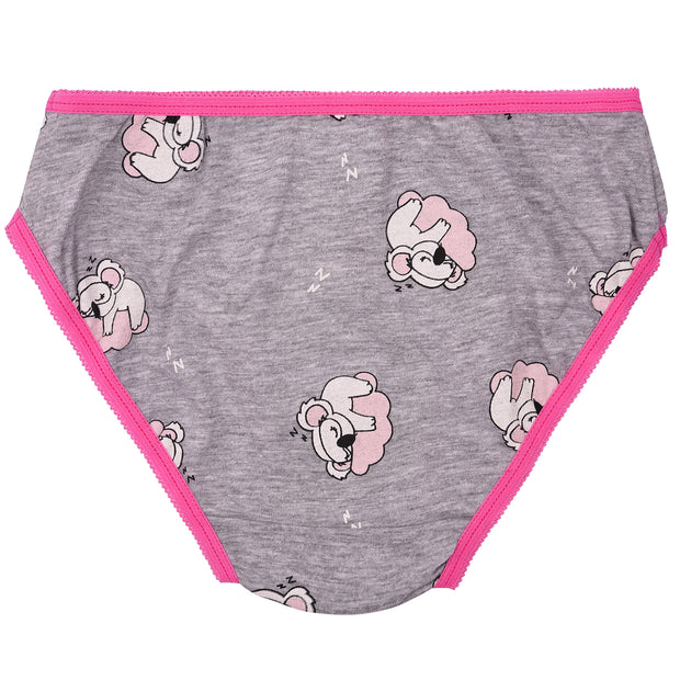 Girls Briefs - Koala Print - Pack of 5