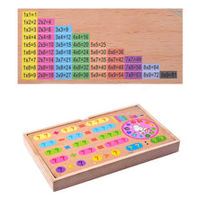 Load image into Gallery viewer, Montessori Multifunctional Magnetic Wooden Learning Box