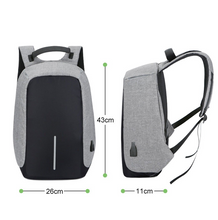 Load image into Gallery viewer, Anti-theft Backpack With USB Charge Port