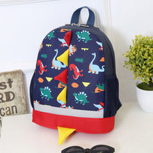 Load image into Gallery viewer, Toddler Dinosaur Pattern Animals Backpack