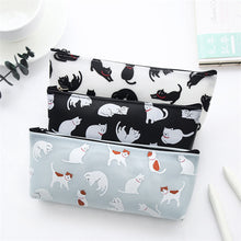 Load image into Gallery viewer, Cats Silicone School Pen Case