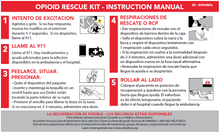 Load image into Gallery viewer, Overdose Response Instruction Booklet