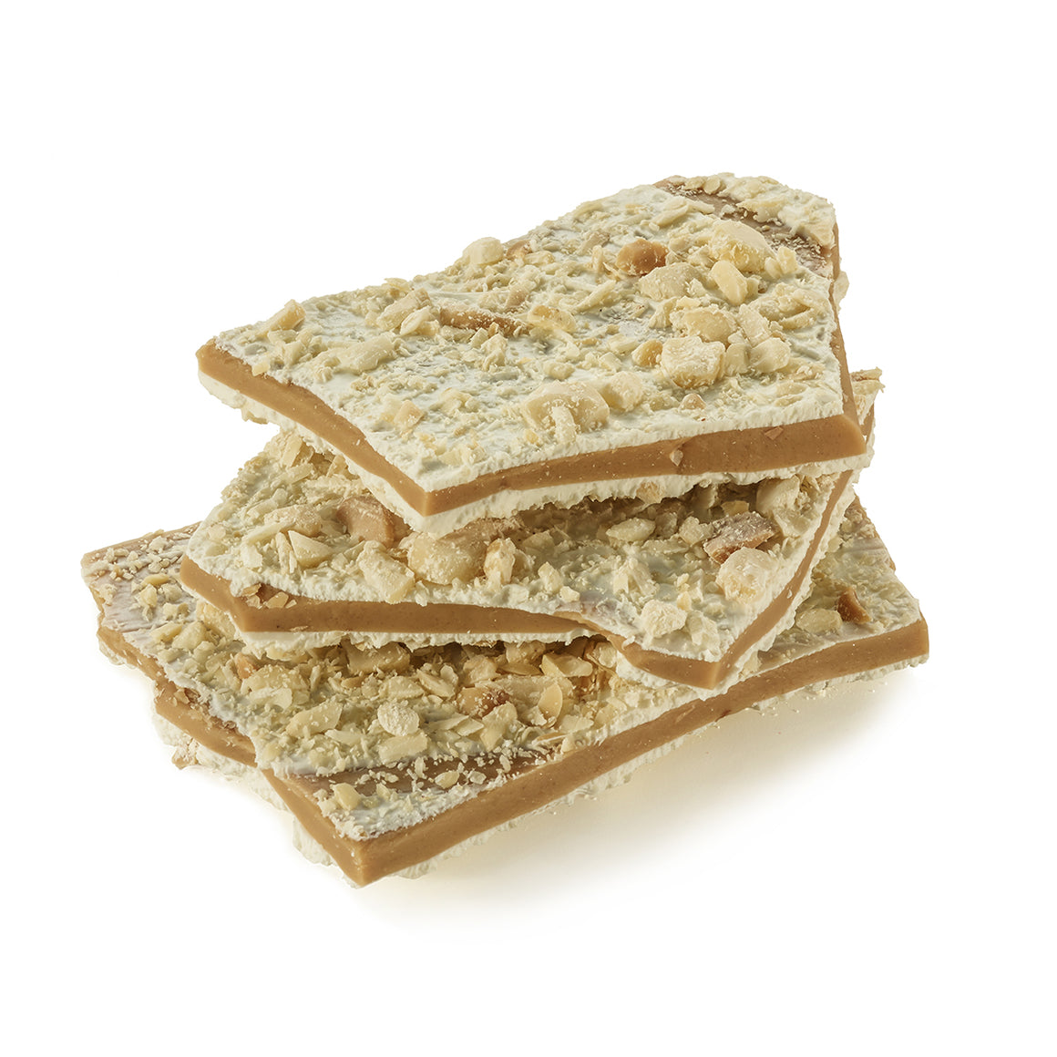 White Chocolate Macadamia Nut Toffee